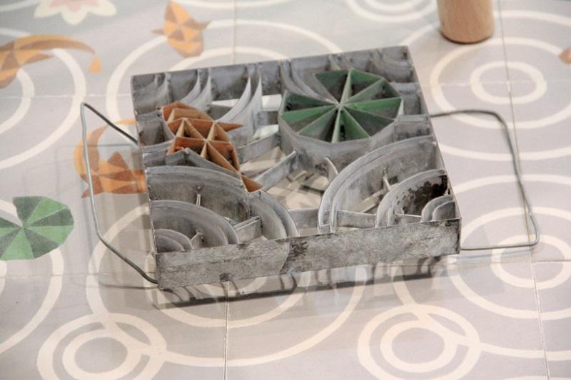 Матрица для производства цементной плитка